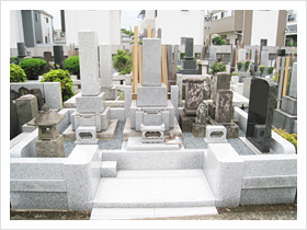 お墓のリフォーム 施工後