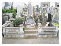 お墓のリフォーム 施工前