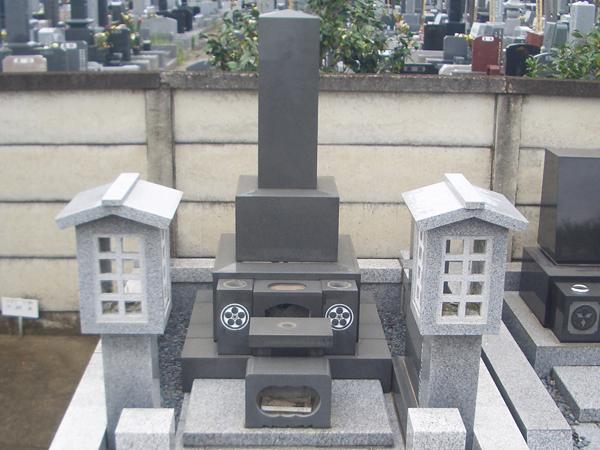 墓石 和型2
