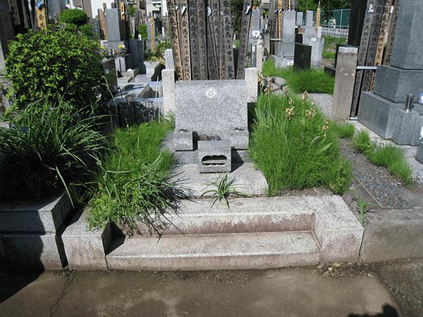 廃墓(墓じまい)1